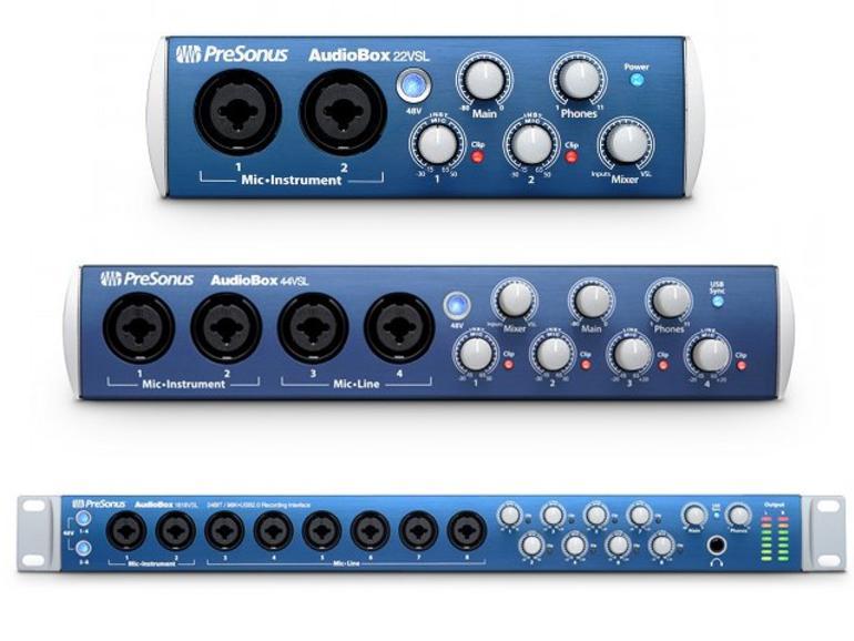 Presonus präsentiert drei neue Audiointerfaces