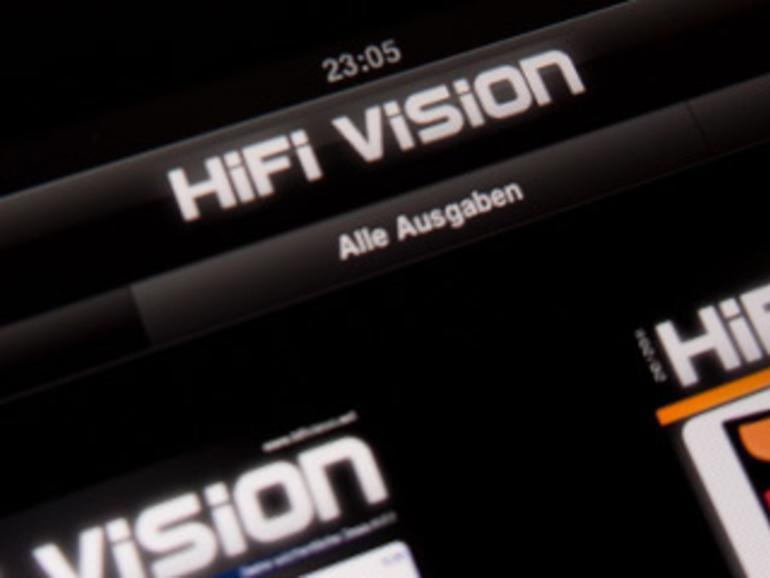 """Neu und kostenlos: Die interaktive Magazin-App """"HiFi Vision"""" für iPad, iPhone und iPod touch"""