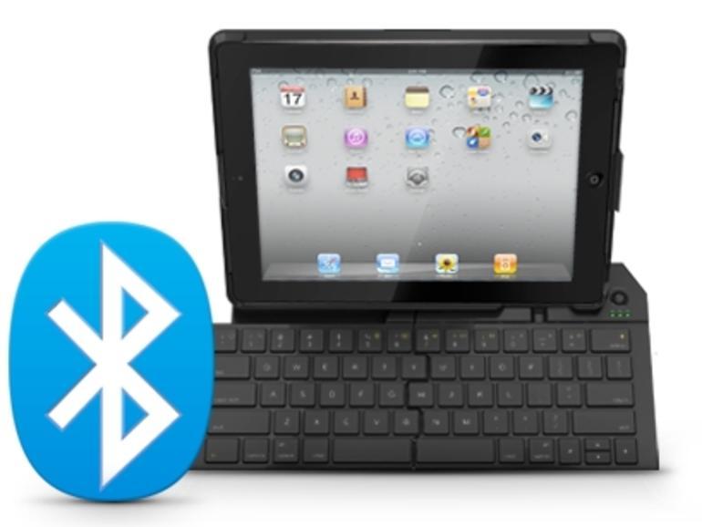 iPad-Zubehör: Logitech zeigt Falttastatur und Joystick-Add-on