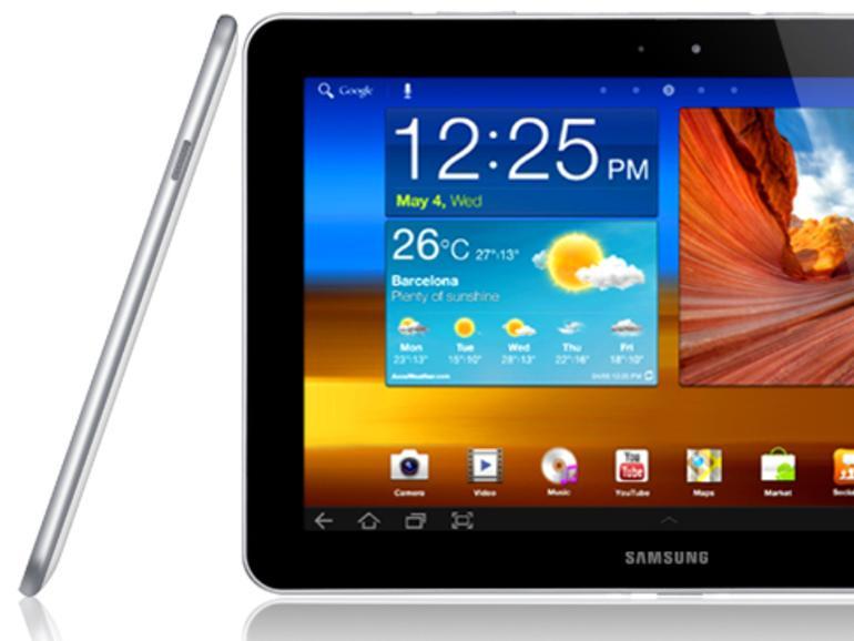 Mit dem Galaxy Tab hat Samsung keine Apple-Patente verletzt – ein nur kleiner Lichtblick für das koreanische Unternehemen.