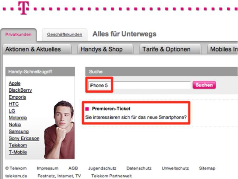 iPhone 5: Ab heute gibt es Wartemarken bei der Telekom