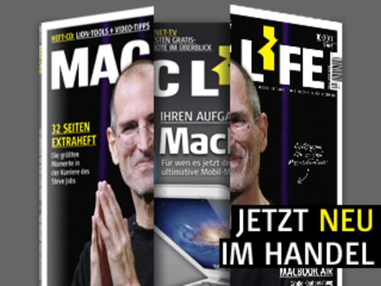Mac Life 10.2011 inklusive Extraheft: Stationen im Leben des Steven P. Jobs