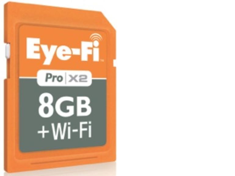 Angefasst & ausprobiert: Eye-Fi Pro X2, SDHC-Karte mit WiFi-Anbindung im Test