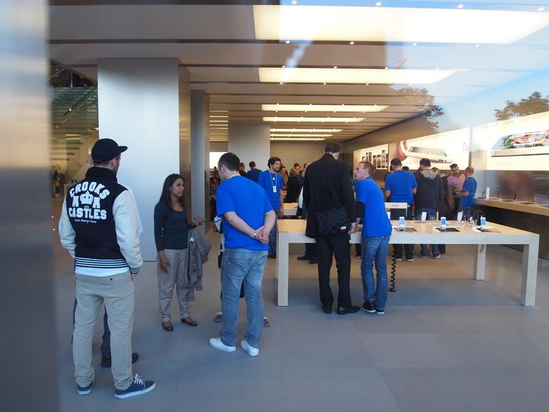 Am Jungfernstieg: Apples zweiter Retail Store in Hamburg eröffnet
