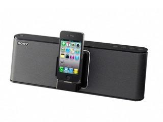 Test: Sony RDP-M15iP, mobile iPhone-Docking-Station