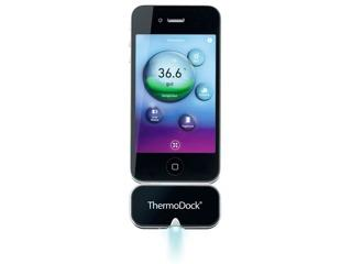 Kurztest: Medisana ThermoDock, Fieberthermometer für das iPhone