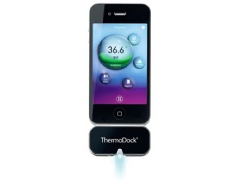 Kurztest: Medisana ThermoDock, Fieberthermometer für das iPhone