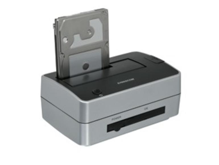 Kurztest: Freecom Hard Drive Dock Pro, Dock für SATA- und ATA-Festplatten