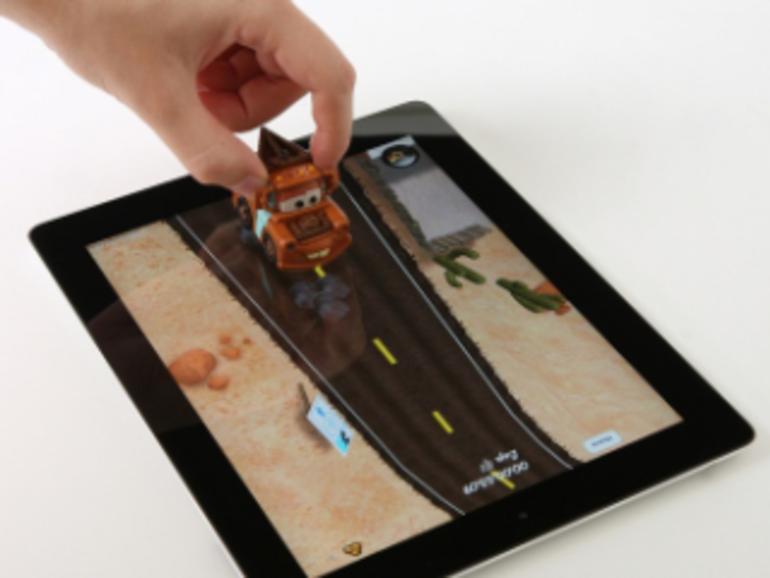 Disney ergänzt iPad-App um Spielzeugautos: Augmented Reality, neu interpretiert