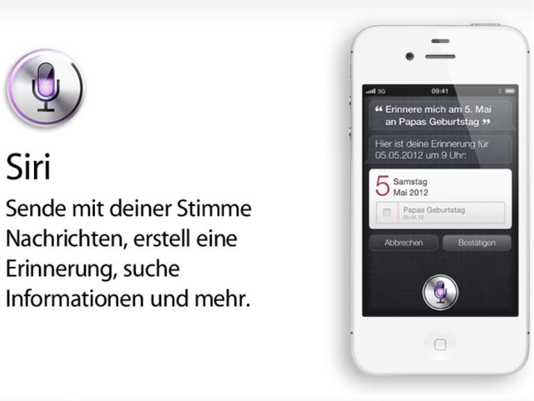 Siri: Der exklusive, intelligente, sprechende Assistent im iPhone 4S