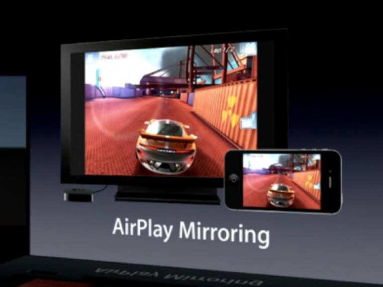 """iPhone 4S: AirPlay-Bildschirmsynchronisierung ein """"Killer-Feature""""?"""