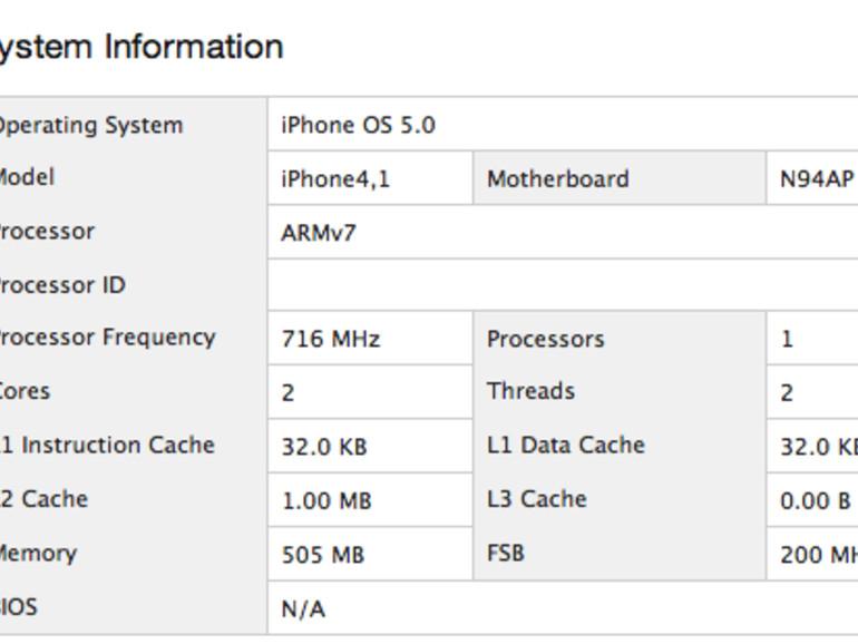 iPhone 4S: Geekbench zeigt 68 Prozent Leistungszuwachs und gedrosselten A5-Chip