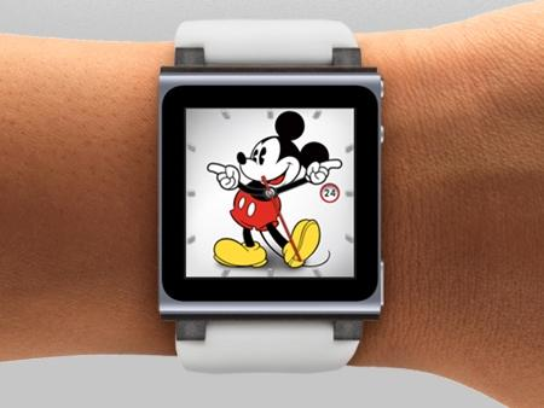 Plant Apple ein neues Design für den iPod nano?
