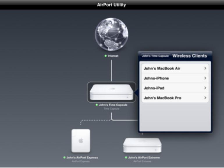 AirPort Dienstprogramm für iOS 5 veröffentlicht