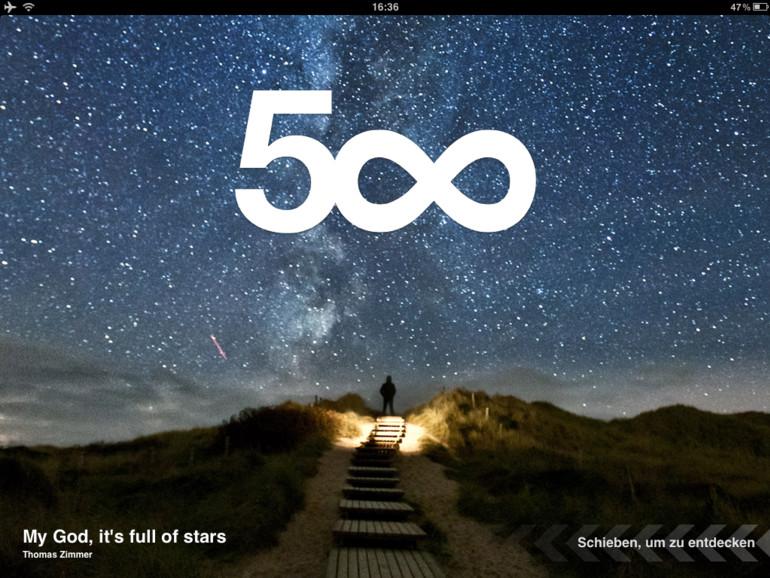 Apple entfernt 500px aus dem App Store