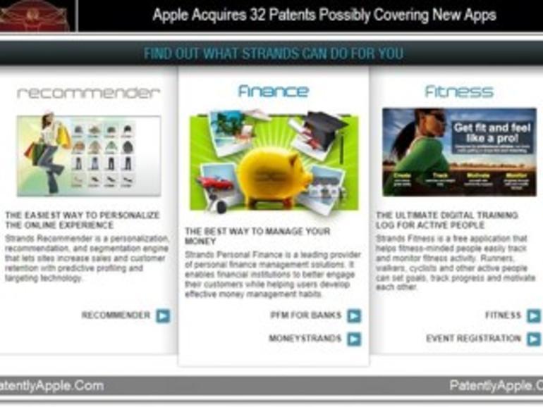 Hinweise auf neue Apps: Apple kauft 32 neue Patente