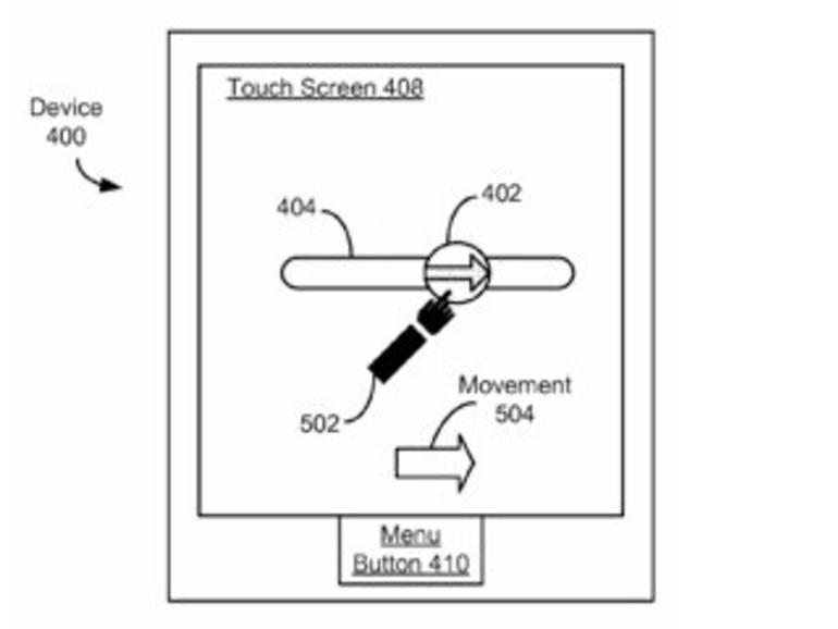 """Apple erhält Patent für """"Slide to Unlock""""-Entsperrung"""