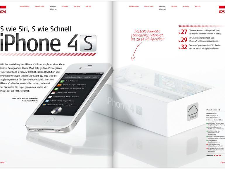Mac Life 12.2011: iPhone 4S und Siri im Test, iCloud & iOS 5, AirDrop, Lion-Gesten u. v. m.