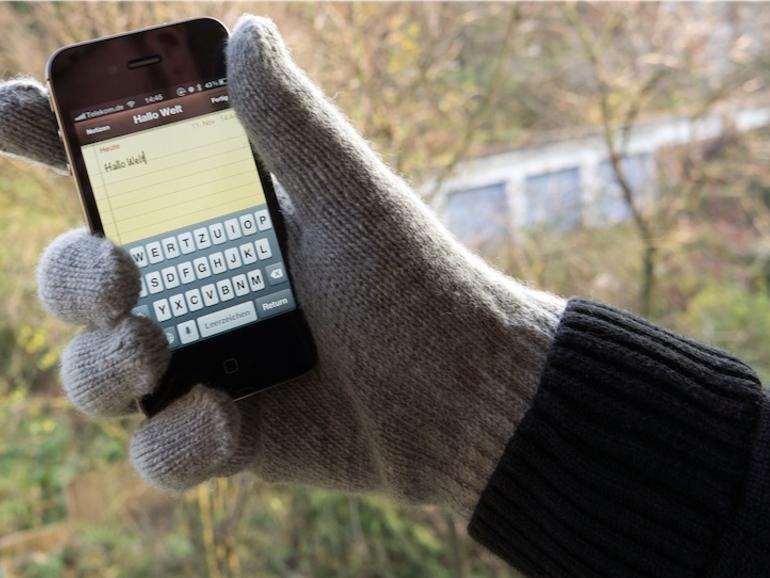 Test: Smartphone Gloves, iPhone-Handschuhe aus Spezialwolle