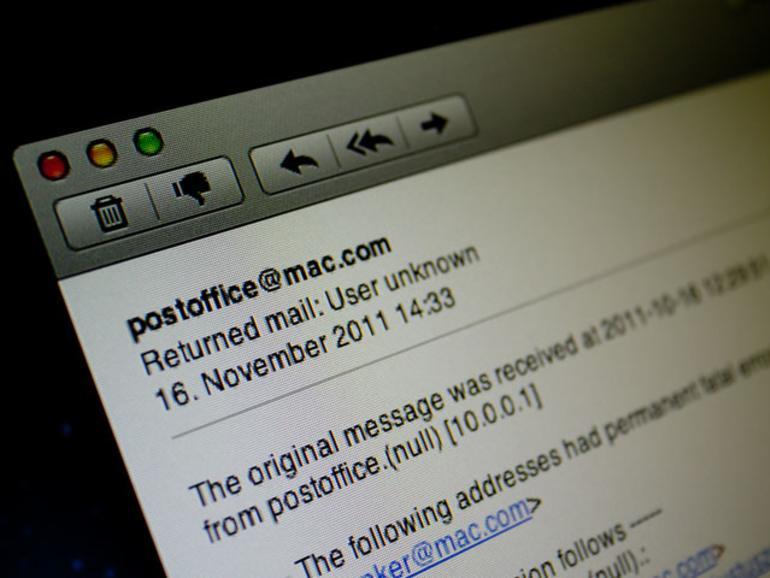Bounce-E-Mail unter OS X Lion erstellen