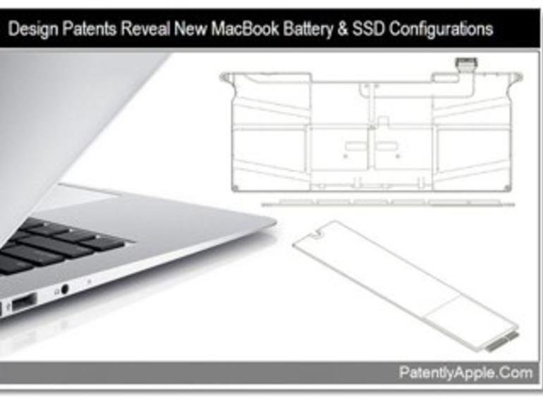 Patentanträge zeigen neue MacBook-Akku- und SSD-Konfigurationen