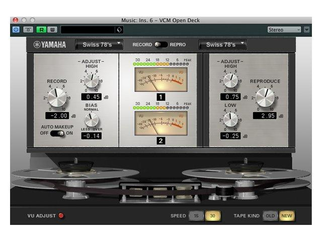 Steinberg präsentiert Yamaha Vintage Plug-In Collection
