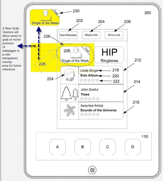 Neues Apple-Patent: Persistent Overlay & IDME-App