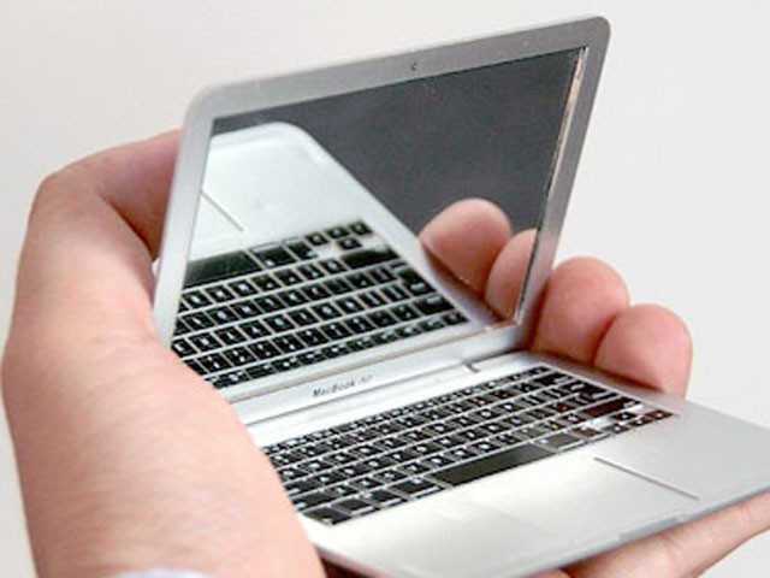 Noch kleiner als das MacBook Air: Das MirrorBook Air.