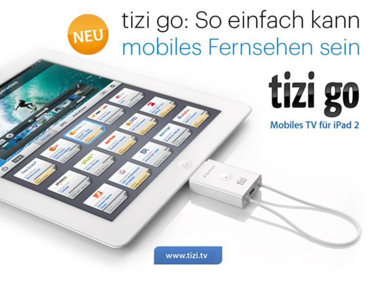 """DVB-T für das iPad 2: Equinux stellt """"tizi go"""" vor"""