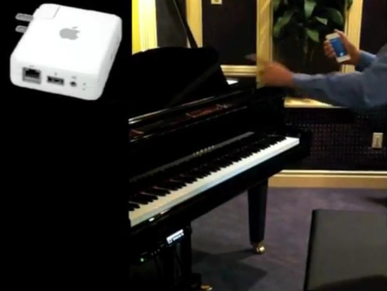 Netzfundstück: Siri spielt Klavier