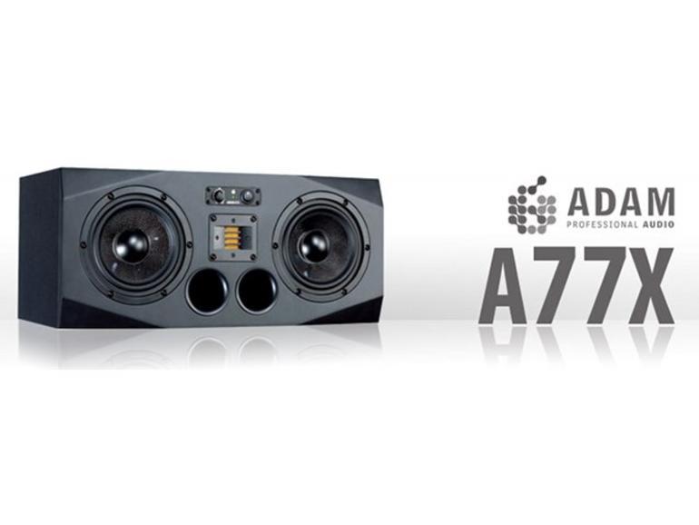 Studiomonitor Adam A77X ab sofort erhältlich