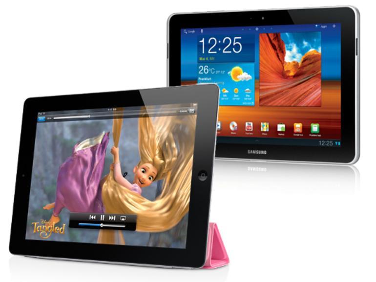 Urteil: Apple muss bekannt geben, dass Galaxy-Tablet keine iPad-Kopie ist
