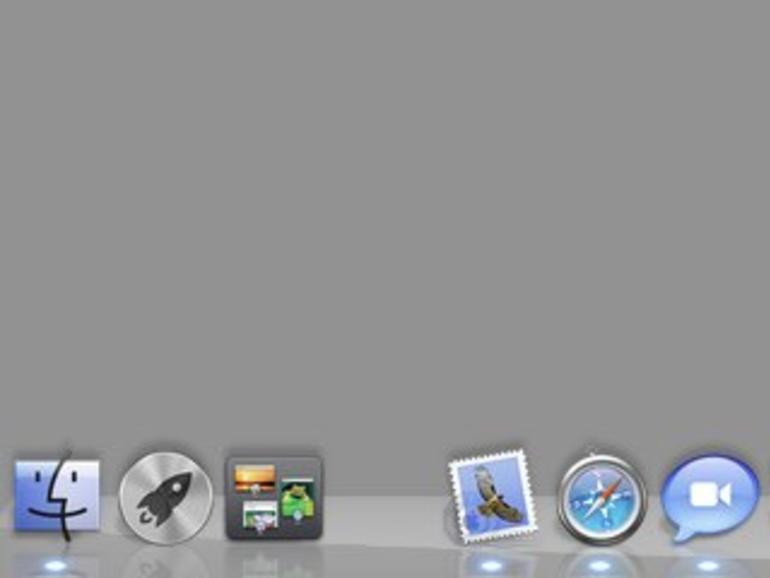 OS X Lion: Platzhalter im Dock einfügen