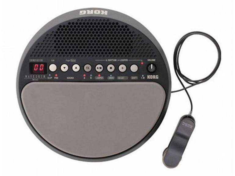Korg präsentiert Percussion-Synthesizer Wavedrum Mini