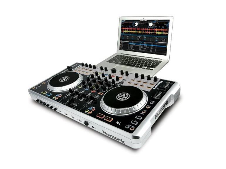 Vier-Deck-DJ-Controller Numark N4 jetzt lieferbar