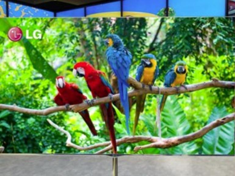 Potenzielles Display für den Apple-Fernseher: LG zeigt riesige OLED-Bildschirme