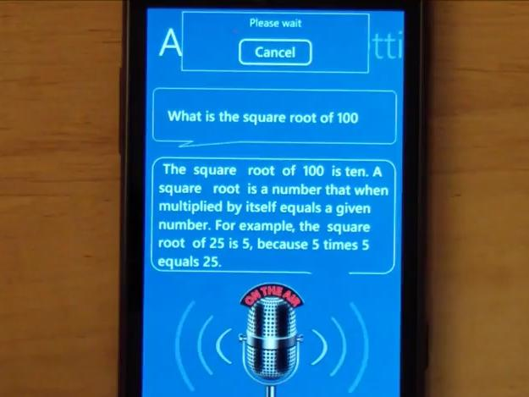 Möchtegern-Siri landet im Windows Phone Marketplace
