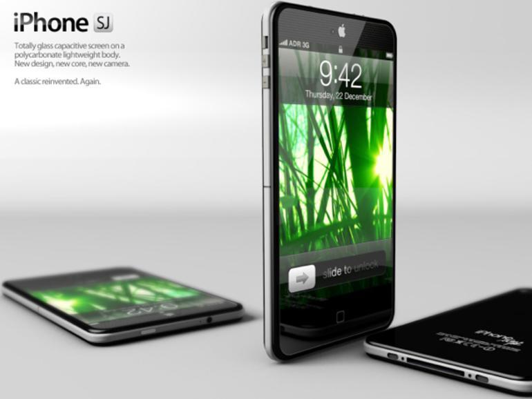 iPhone 5: Neue Designstudie als Tribut an Steve Jobs