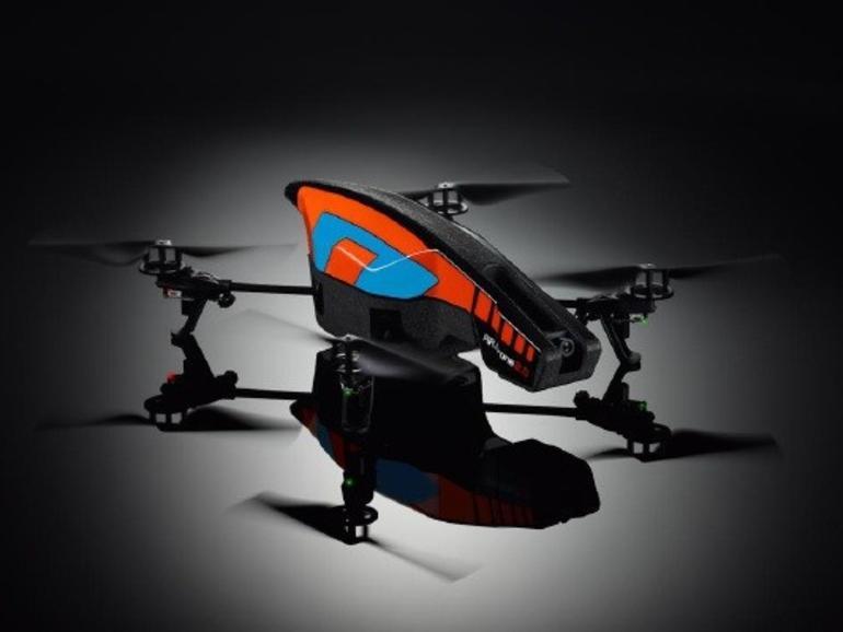 CES 2012: Parrot enthüllt AR.Drone 2.0 mit 720p-Kamera und verbesserter Steuerung