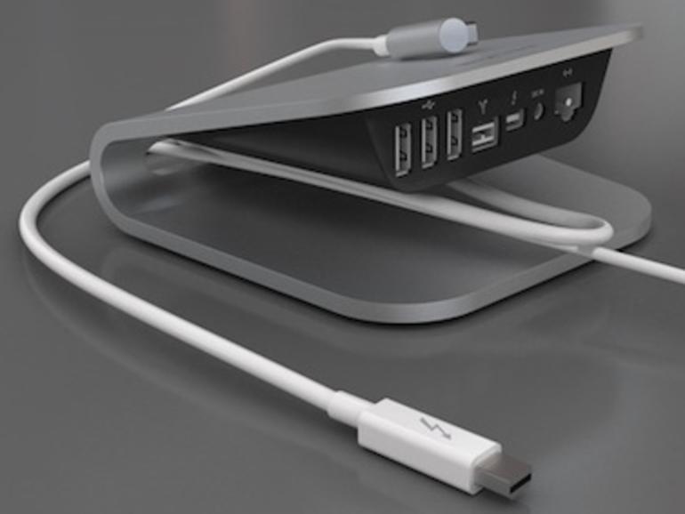 CES 2012: Belkin zeigt Thunderbolt Express Dock