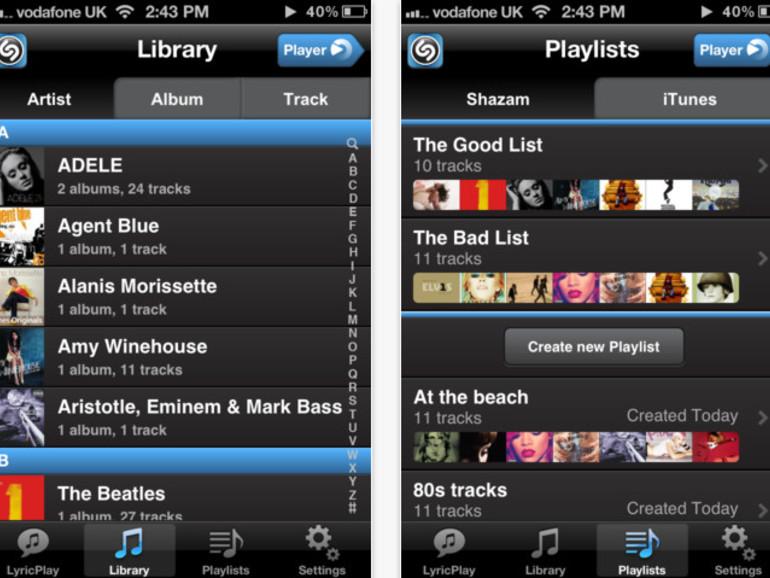 """Shazam Player: Kostenlose Alternative zur """"Musik""""-App"""