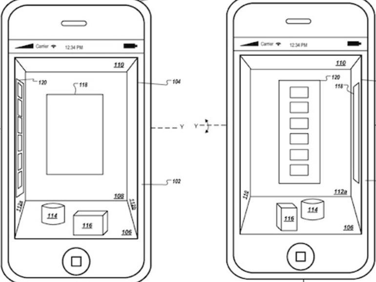 Apple arbeitet an 3D-Benutzeroberfläche für iOS-Geräte