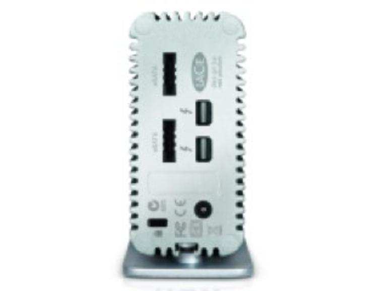 CES 2012: LaCie zeigt Thunderbolt-Hub mit eSATA-Schnittstelle
