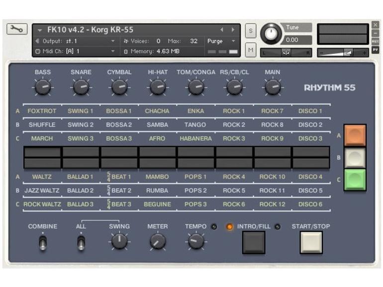 FK10: Korg Rhythm 55: Analoges für den Sampler