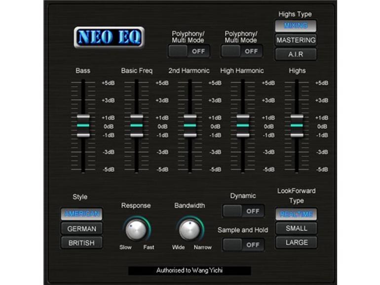 Neo EQ: Intelligenter Equalizer von Sound Magic
