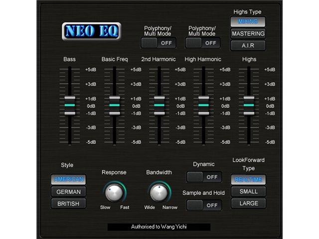 Neo EQ: Intelligenter Equalizer von Sound Magic