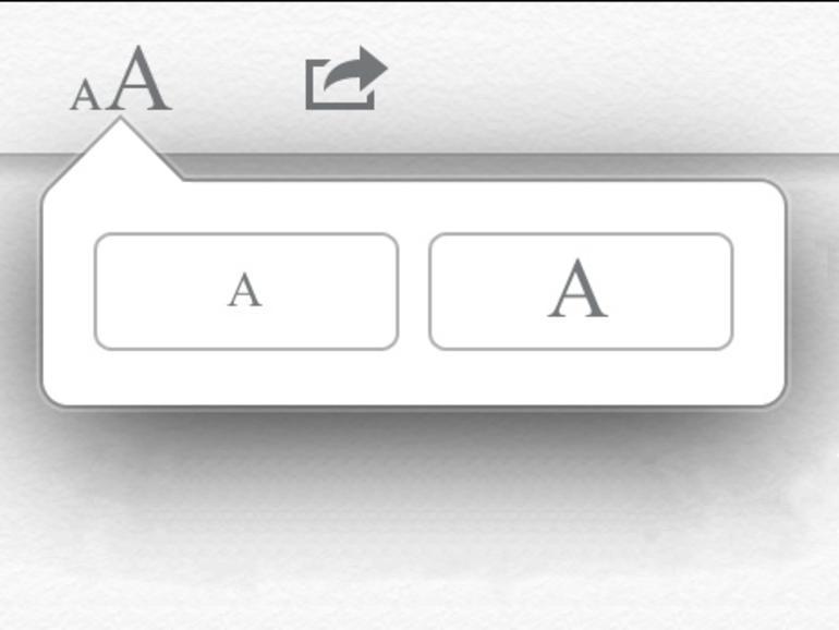 iOS 5: Größere Schrift in Safari
