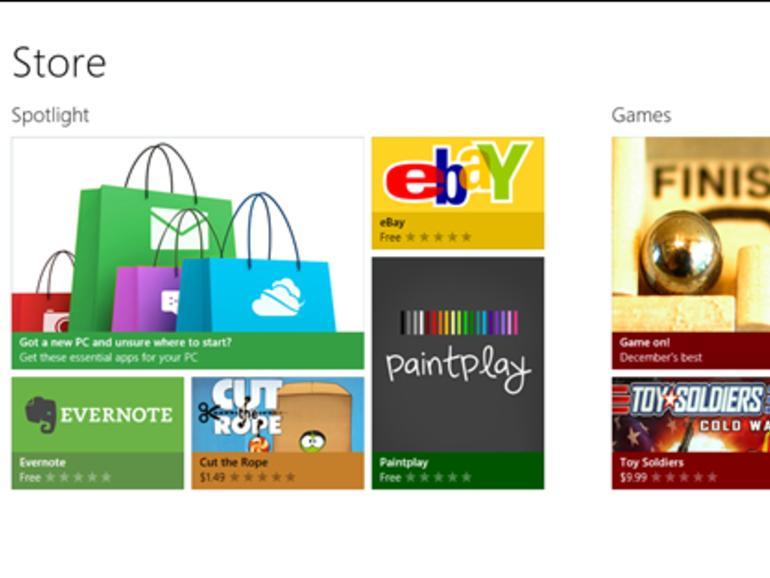 Windows 8: Microsoft erklärt den Windows Store