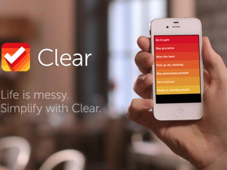 Clear: Neue To-Do-List-Anwendung im App Store
