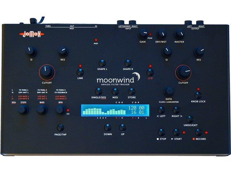 Jomox stellt den analogen Filter-Tracker Moonwind vor